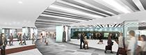 Narita airport terminal (2006) Renewal project|成田空港第2ターミナルビル免税店共用部リニューアル計画